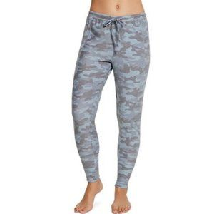 Chaser Camo Jogger Sweatpants in Blue/Grey